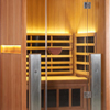 2-Person Clearlight Sanctuary Full Spectrum Sauna Cedar thumb 2