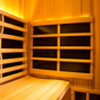 4-Person Clearlight Sanctuary Full Spectrum Corner Sauna Cedar thumb 11