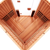 4-Person Clearlight Sanctuary Full Spectrum Corner Sauna Cedar thumb 7